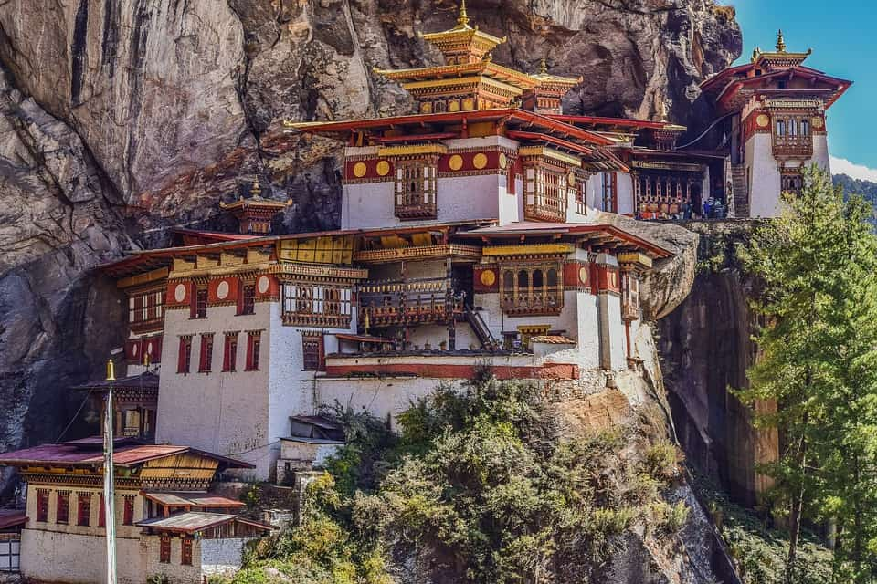 Tiger's Nest - Bhutan With Kids