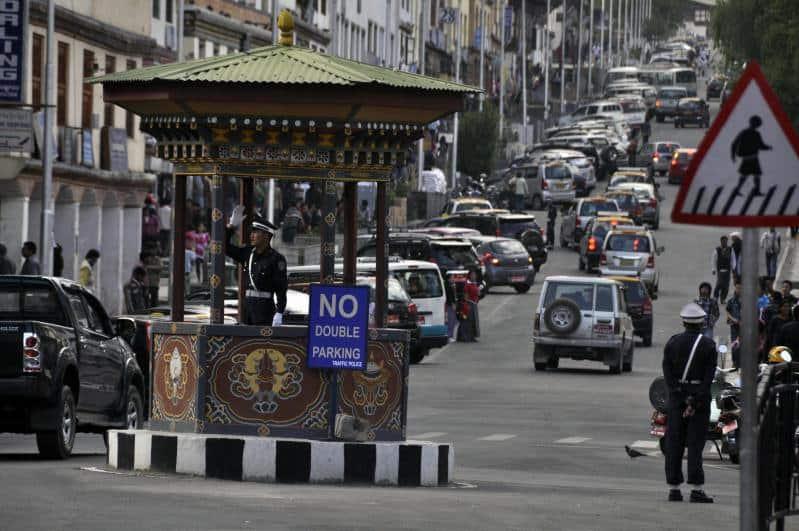 Bhutan Traffic