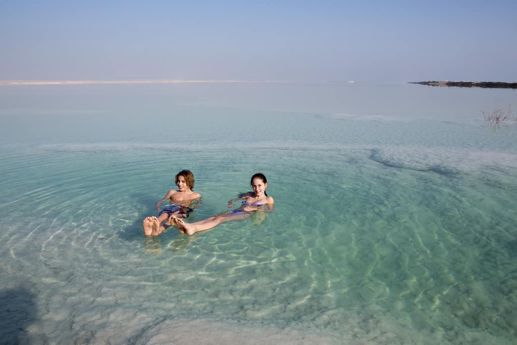 Dead Sea - Jordan With Kids