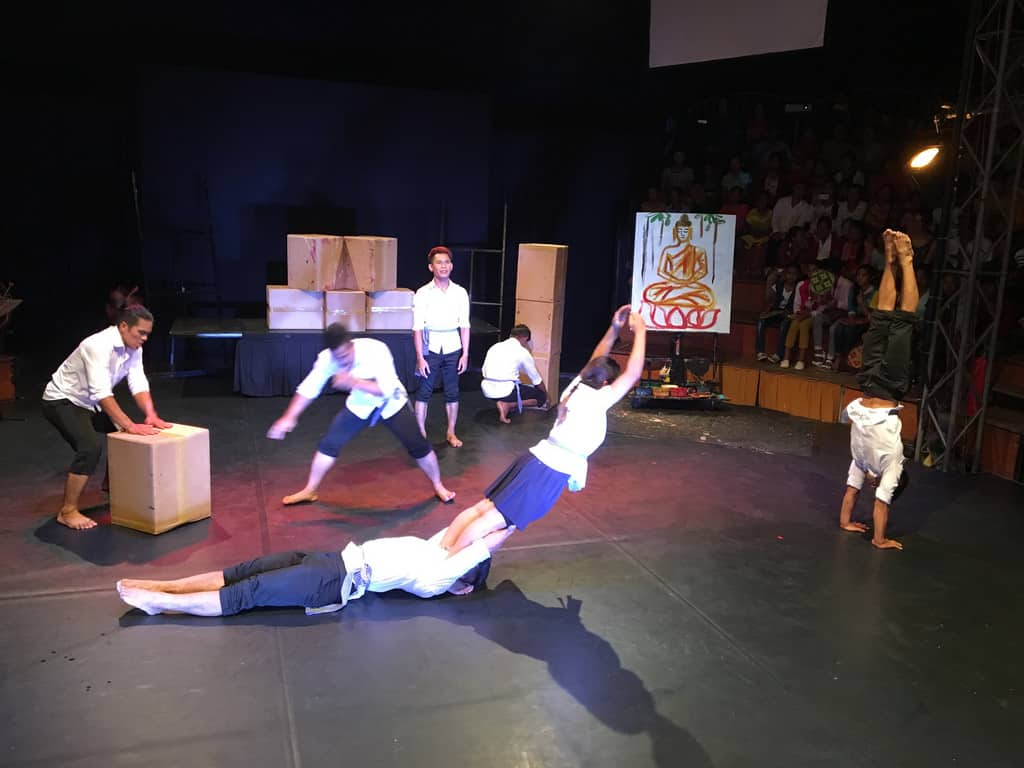 Phare Circus - Cambodia With Kids
