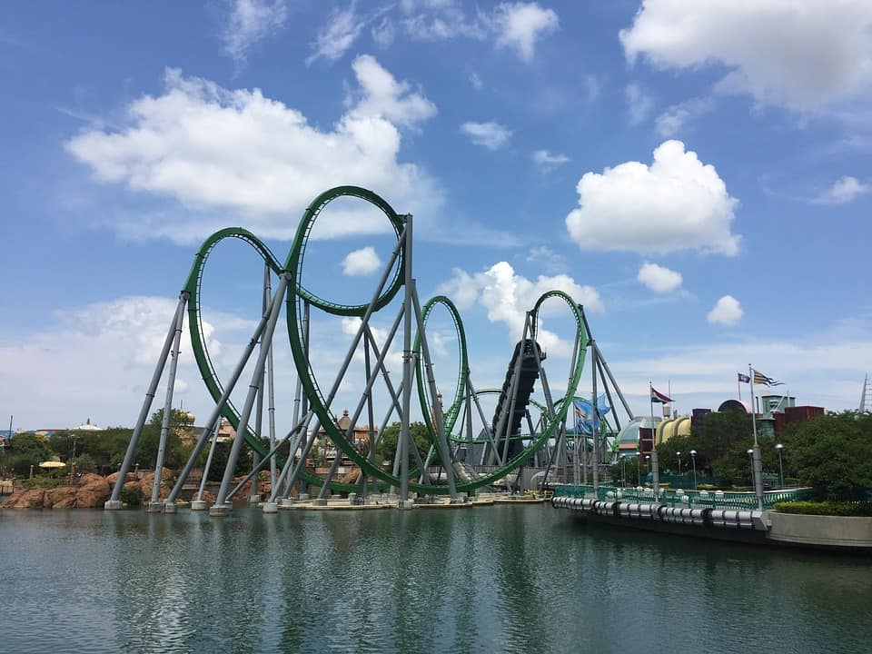 Amusement Park - Family Vacation With Teens