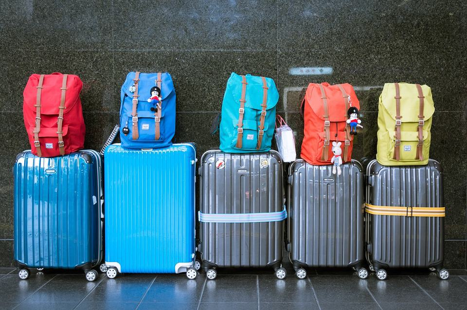 Luggage - Vacation With a Family of Five
