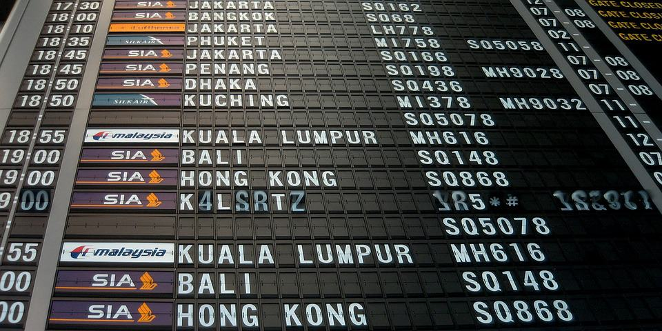 Flight Schedule - Vacation for Kids