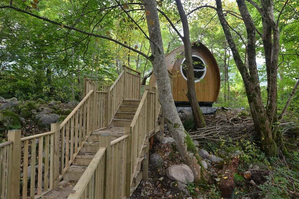 Glamping Pod, Scottish River - Glamping Site