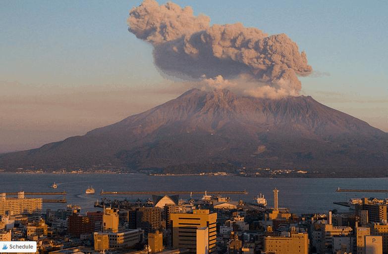 Mount Sakurajima, Japan