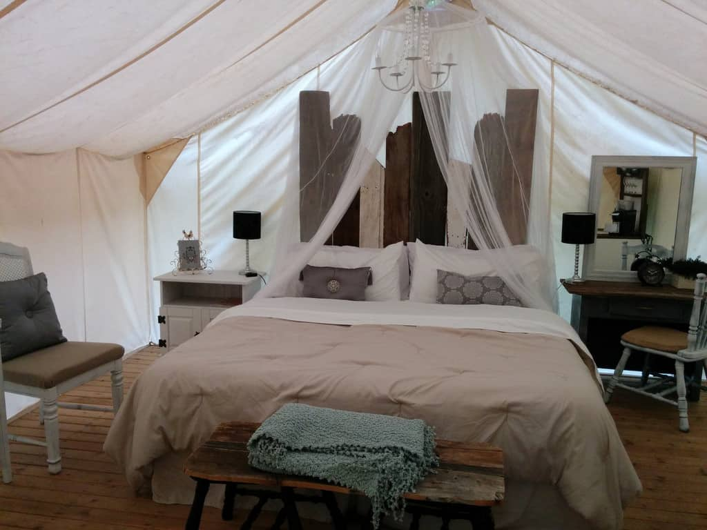 Pampered Wilderness, Millersylvania State Park - Glamping Site