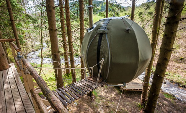 Red Kite Tree Tent, Wales - Glamping Site