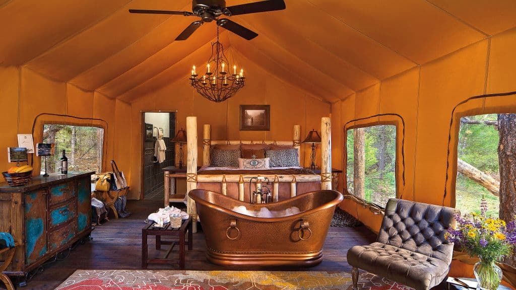 Resort at Paws Up, Montana - Glamping Site