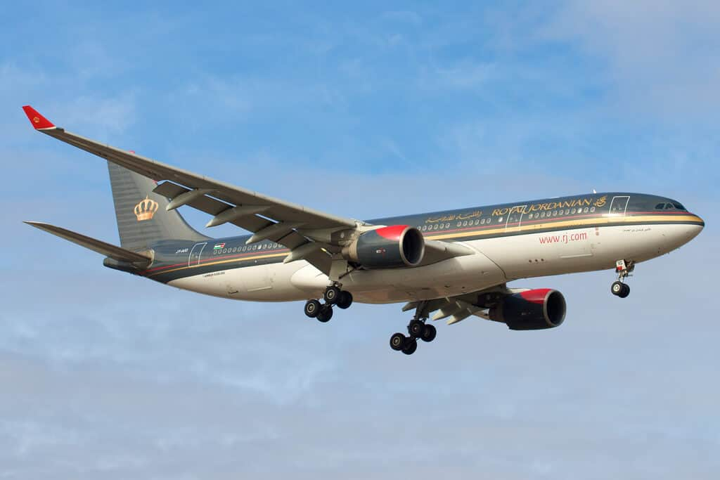 Royal Jordanian Airlines - Safest Airlines in the World