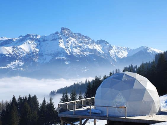 Whitepod, Switzerland - Glamping Site