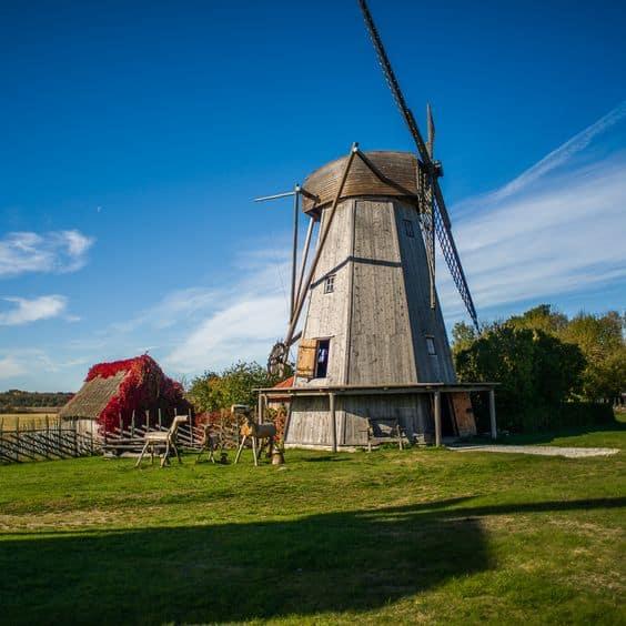 Angla Windmill Mount - Estonia With Kids