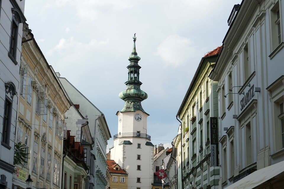 Bratislava Old Town - Slovakia With Kids
