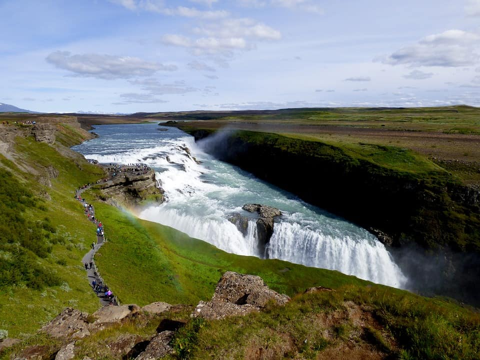 Gullfoss Falls, Iceland - Best Waterfalls Around the World