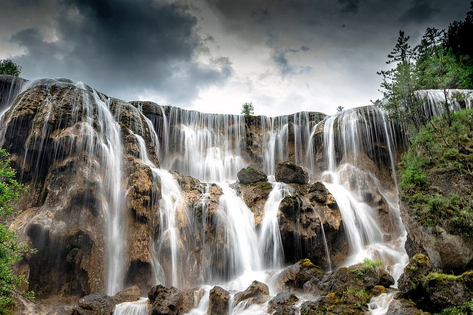 Jiuzhaigou Nuorilang Waterfall - Best Waterfalls Around the World
