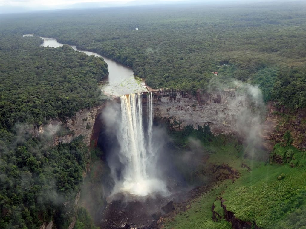 Kaieteur Falls, Guyana - Best Waterfalls Around the World
