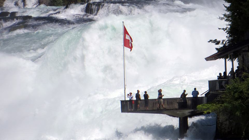 Rhine Falls, Switzerland - Best Waterfalls Around the World