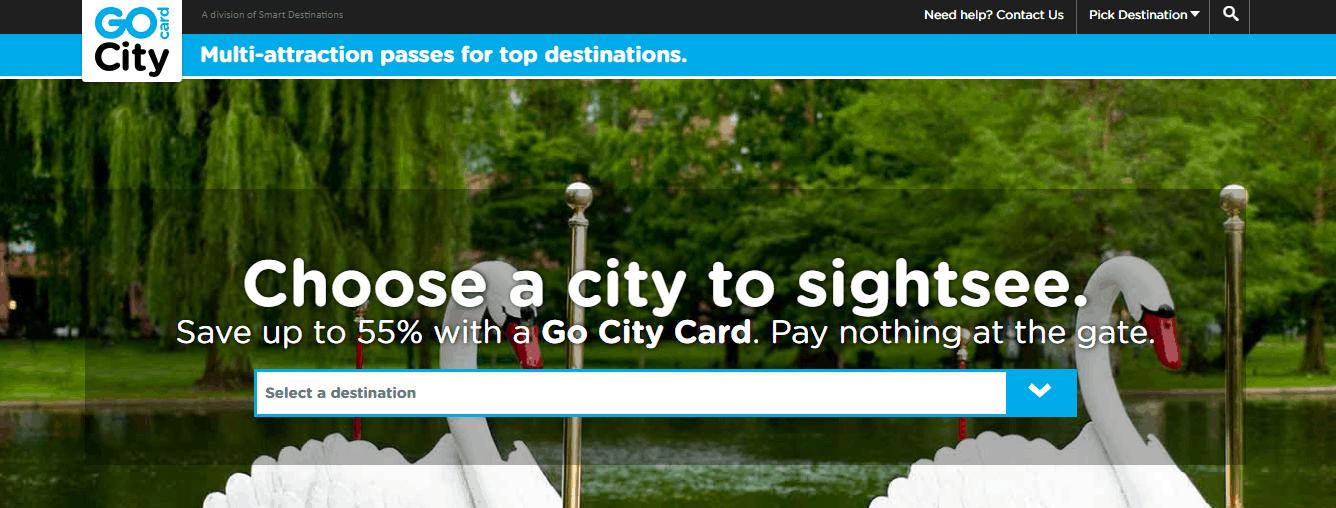 Smartdestinations Travel app - Self-Guided Adventures