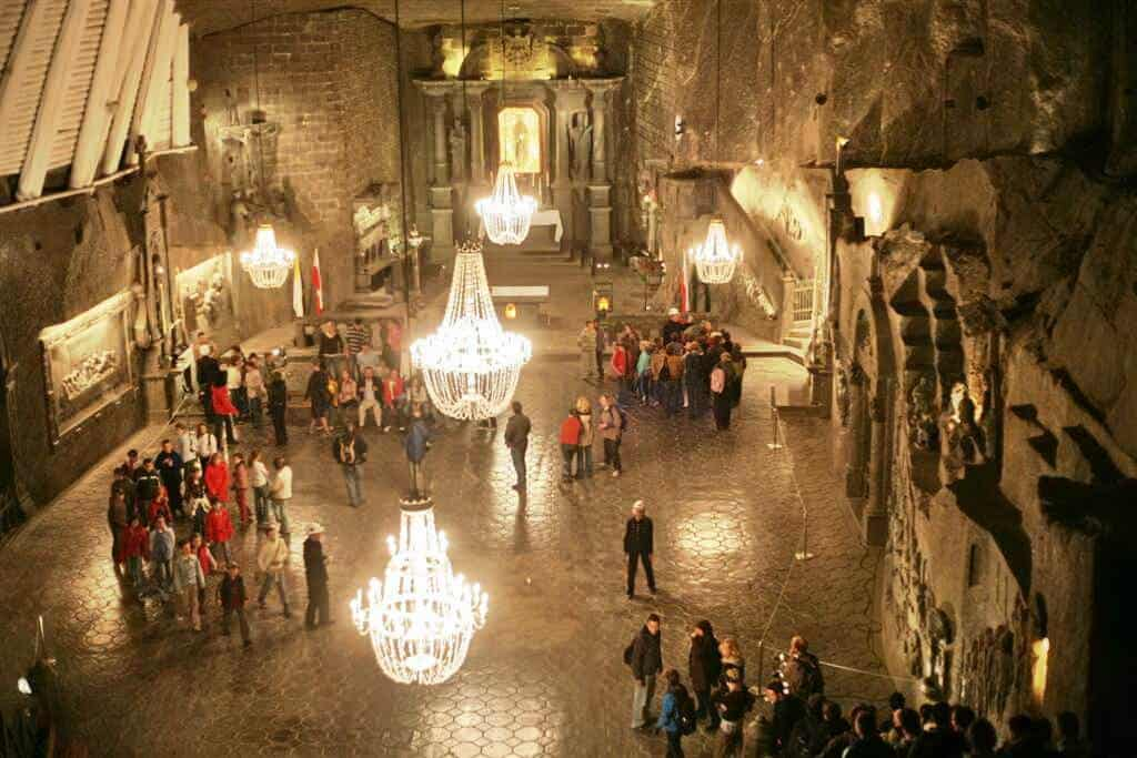 Wieliczka Salt Mine - Poland With Kids