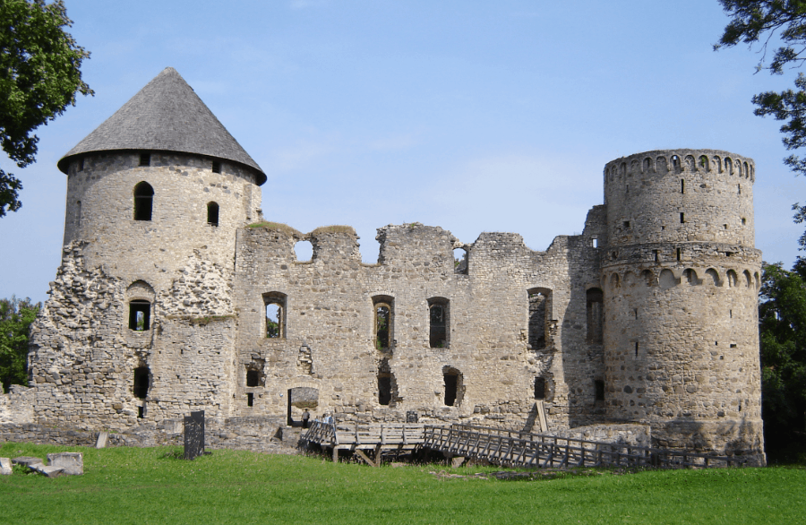 Cesis Medieval Castle - Latvia With Kids