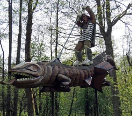 Antanas Cesnulis Sculpture Park - Best Places to Visit in Lithuania With Kids