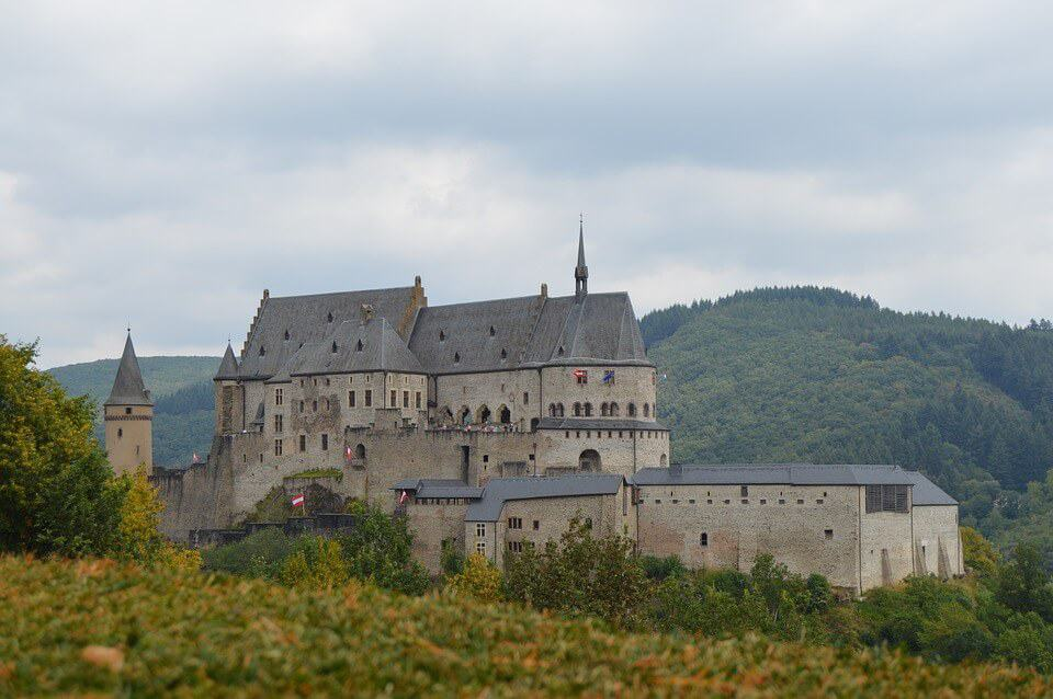 Vianden Castle - Luxembourg With Kids