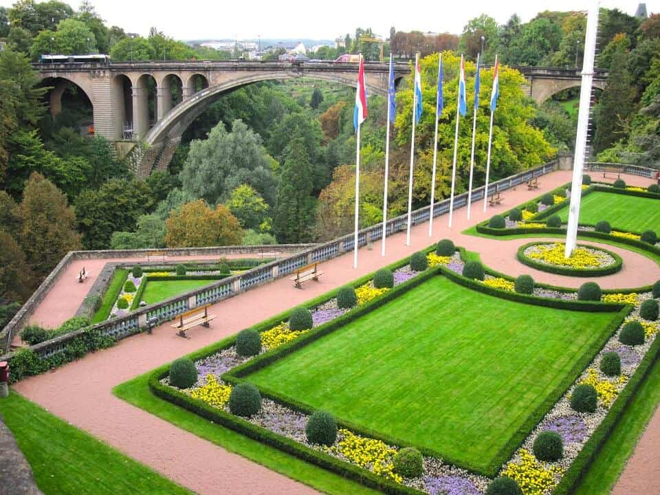 Adolphe Bridge - Luxembourg With Kids