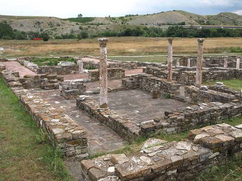 Ancient Ruins of Stobi - Macedonia With Kids
