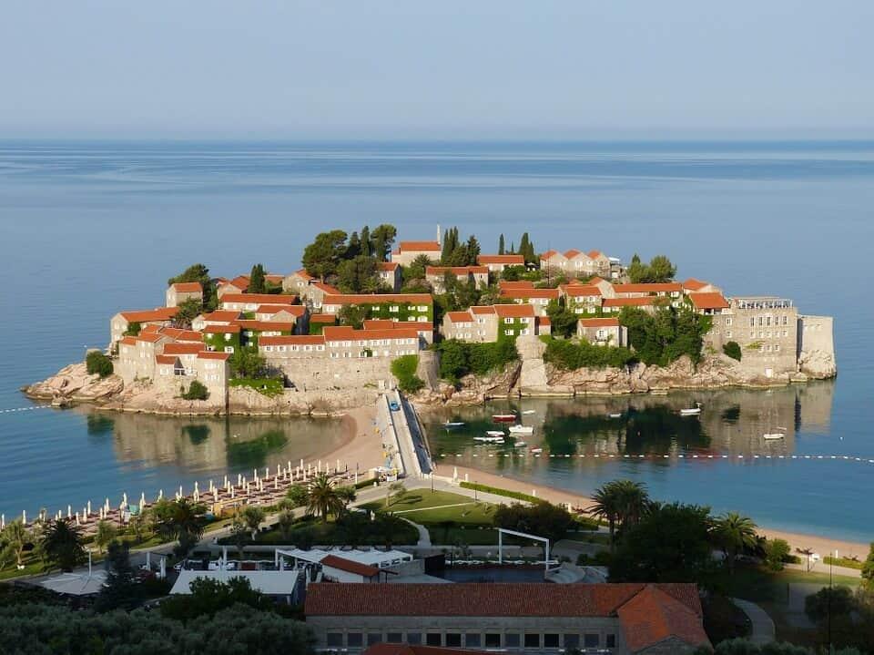Sveti Stefan - Montenegro With Kids