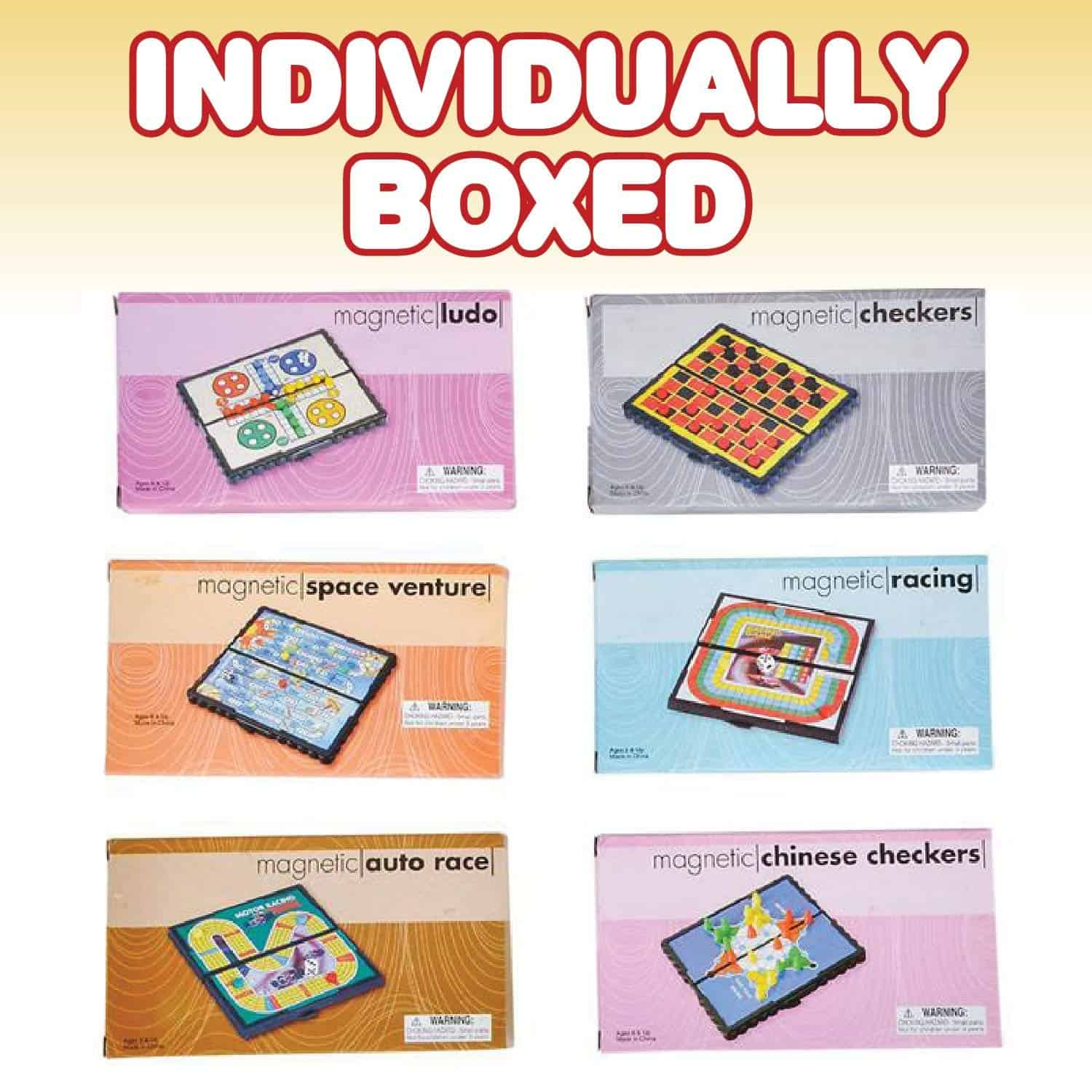 Magnetic Board Game Set - Kids Travel Accessories