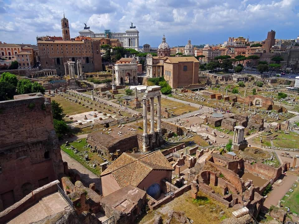 Roman Forum - Rome With Kids