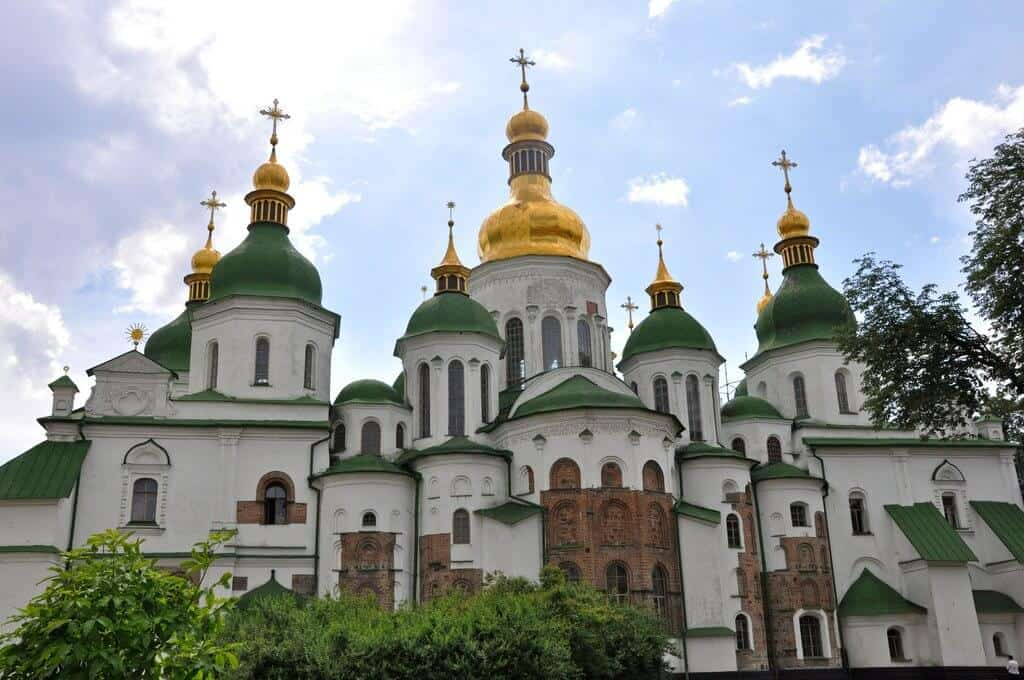 Saint-Sophia Cathedral - Kiev and Lviv, Ukraine with kids