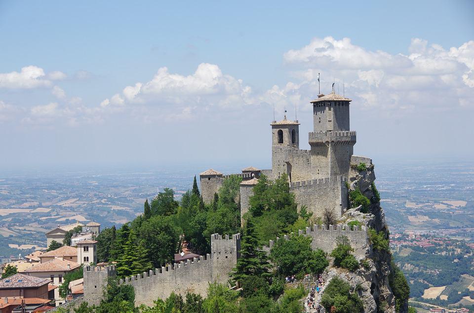 Guaita Fortress in San Marino