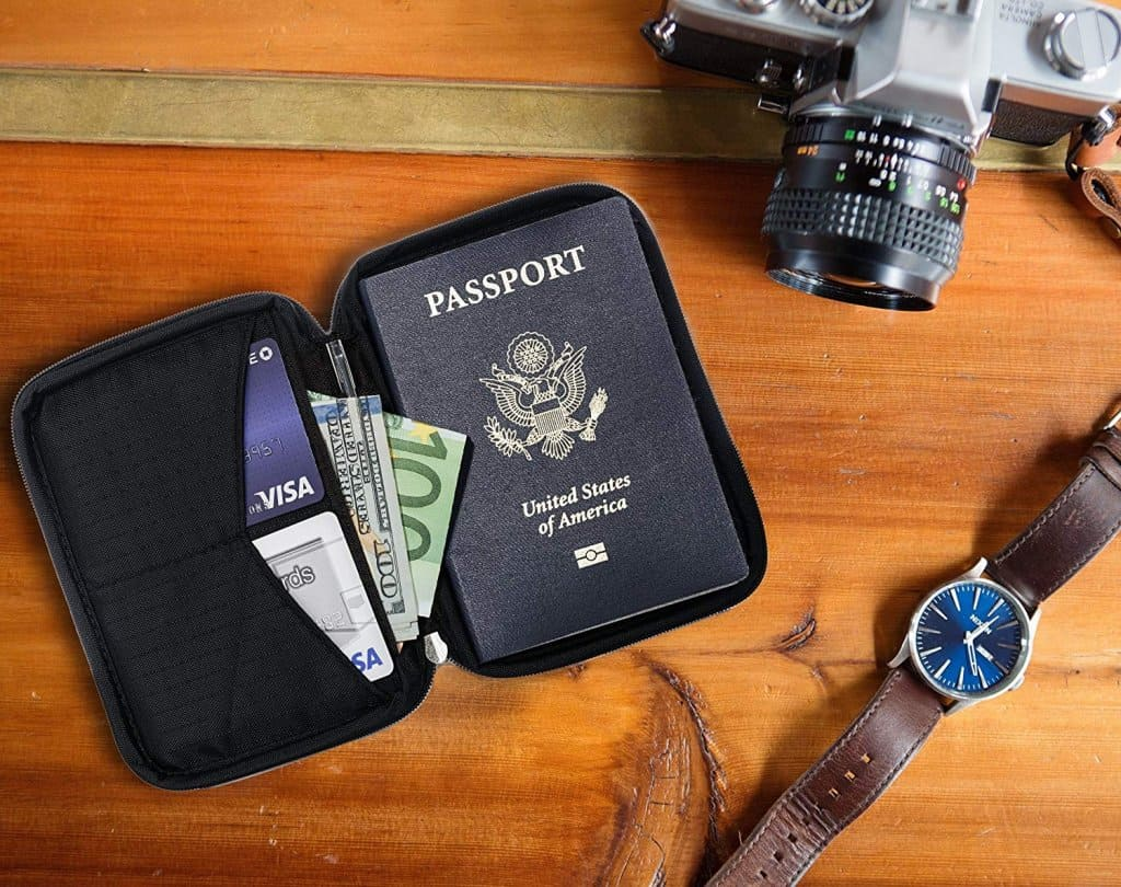 Document Holder - Travel Essentials