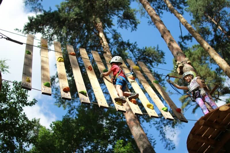Obstacle Activities - Andorra with Kids