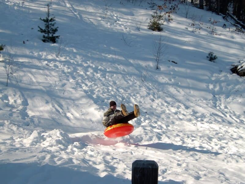 Tubing - Andorra with Kids