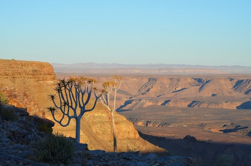 Fish River Canyon - Namibia with Kids