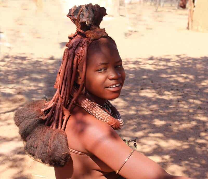 Himba tribe - Namibia with Kids