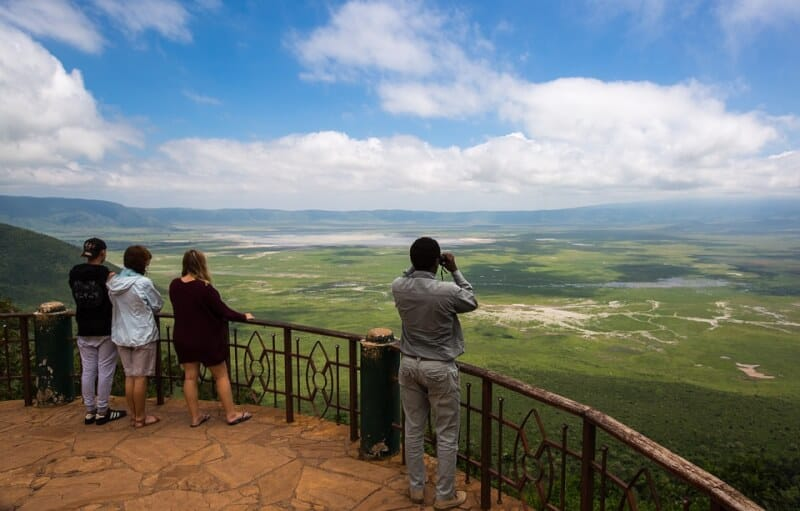 N'gorongoro - Tanzania with Kids