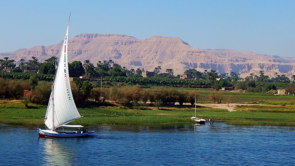 Sailing on the Nile River - Egypt With Kids