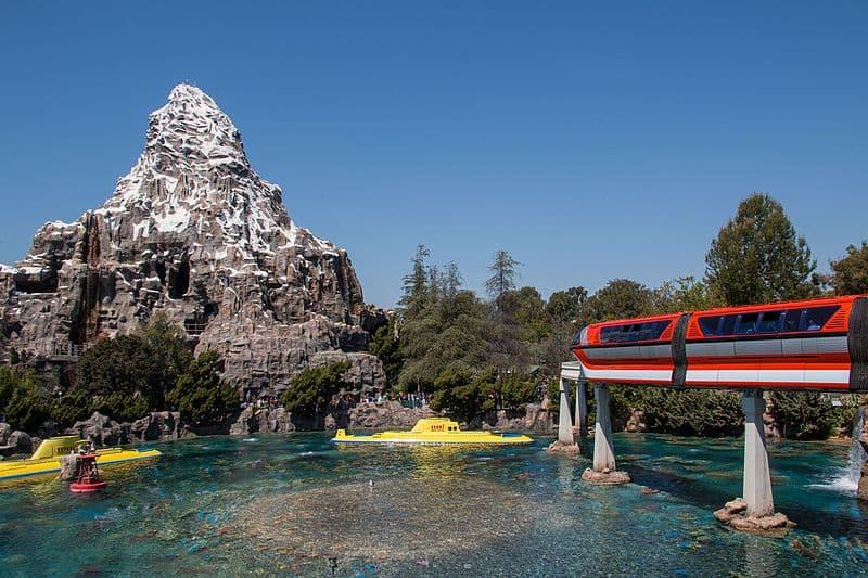 Goofy's Sky School and Matterhorn Bobsleds