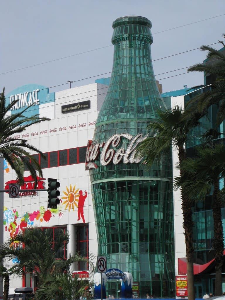 Coca Cola Store - Las Vegas with Kids