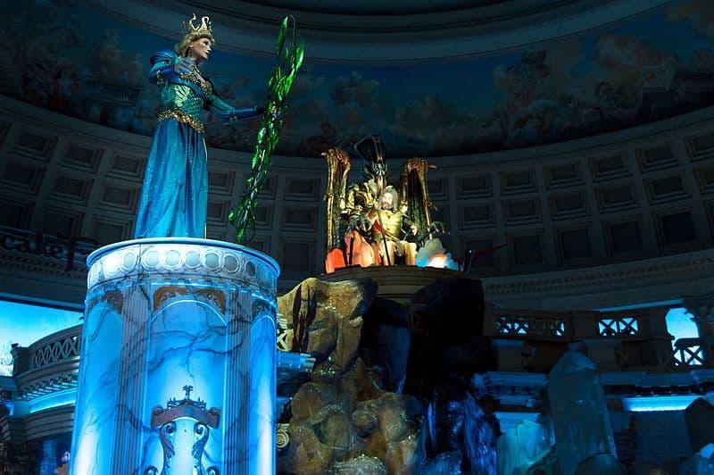 Fall of Atlantis Show - Las Vegas with Kids