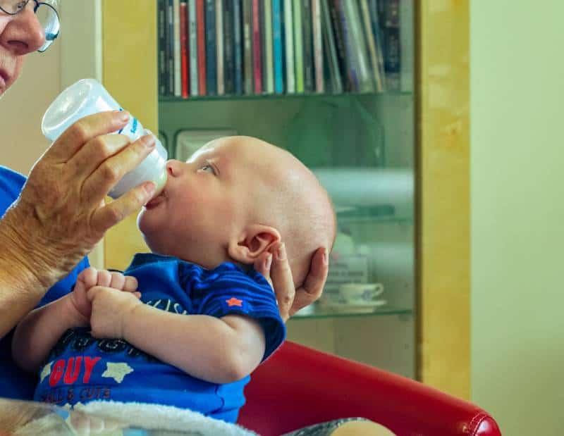Feeding Baby - Flying with a Newborn