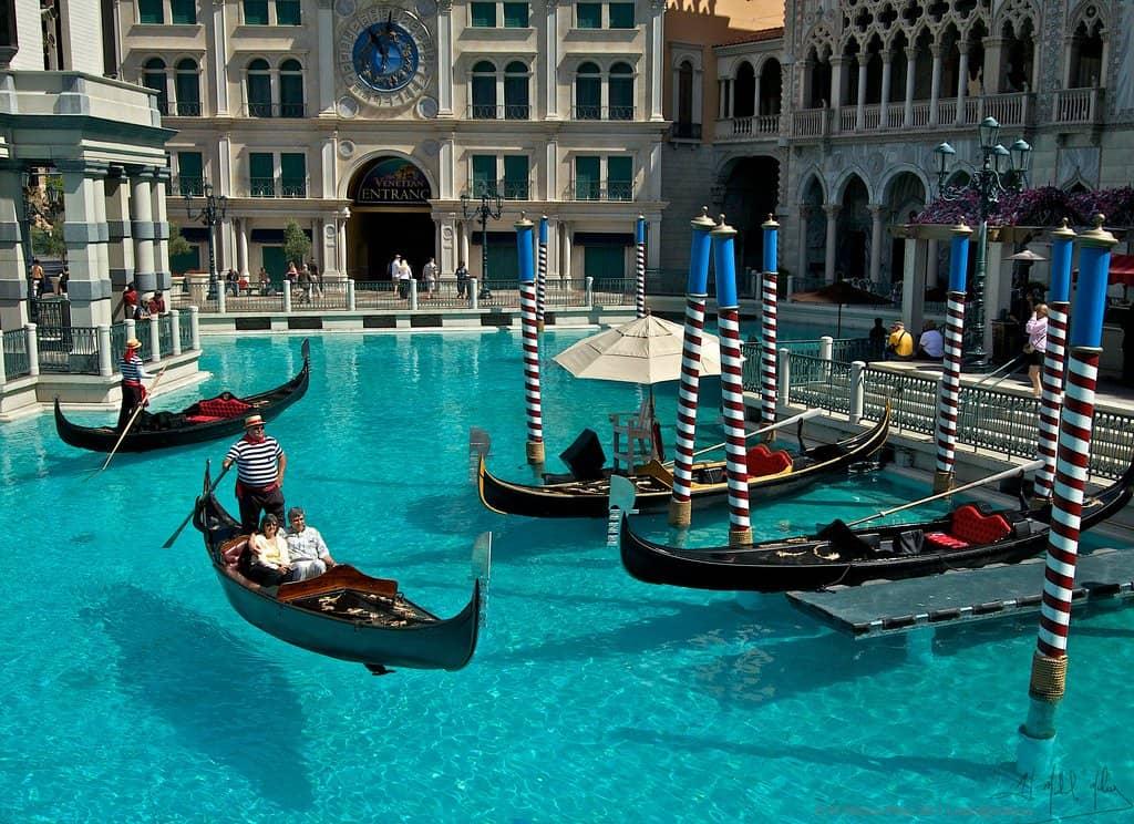 Gondola Rides - Las Vegas with Kids