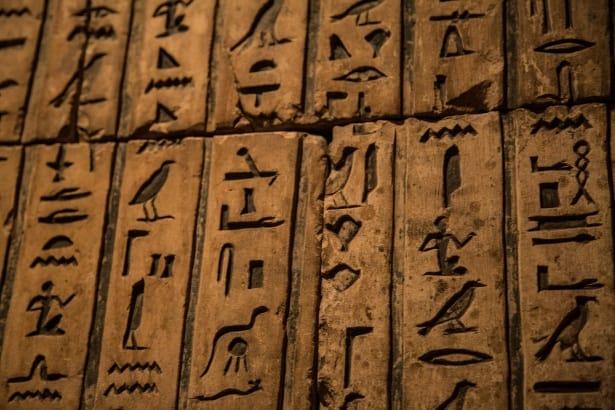 Hieroglyphs - Fun Facts About Egypt