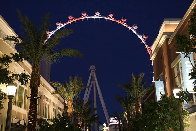 High Roller Observation Wheel - Las Vegas with Kids