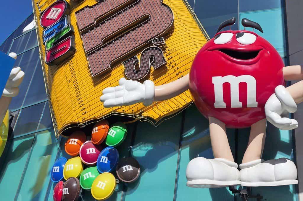 M&M World - Las Vegas with Kids