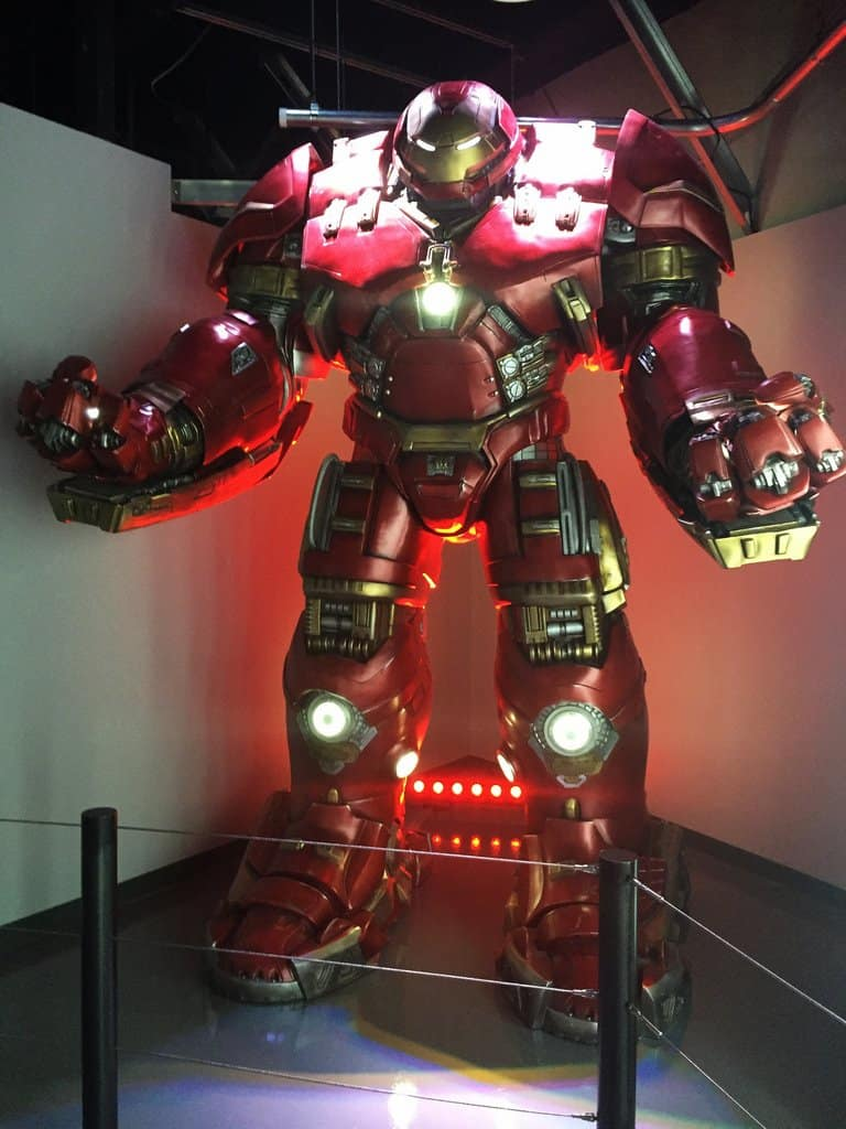 Marvel Avengers S.T.A.T.I.O.N. Interactive Exhibit