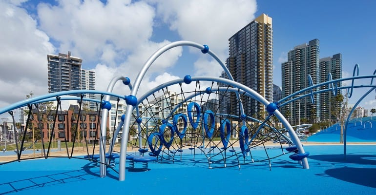 Waterfront Park - San Diego with Kids
