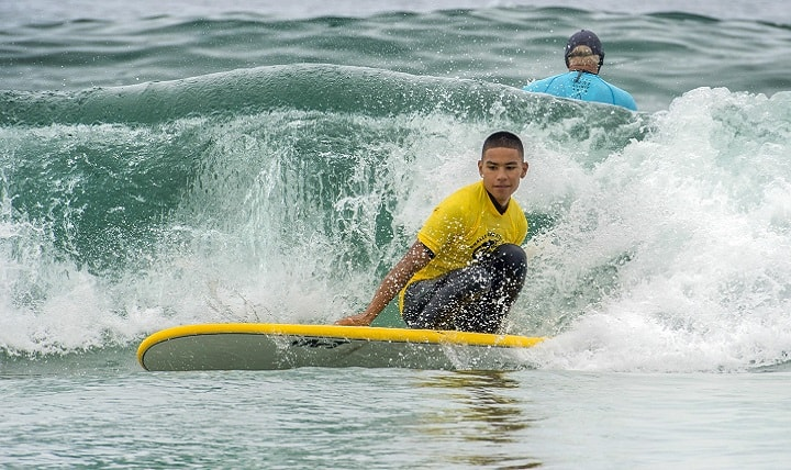 Surfing - San Diego with Kids